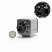Mini camera ex-view CCD noir et blanc 600 lignes 0.0003 lux objectif C ou CS