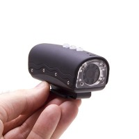 Caméra Sport HD 720P étanche 5 Mégapixels noir