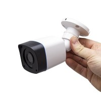 Mini caméra extérieure 2 Mpx HD 720P analogique AHD / TVI / CVI / CVBS vision nocturne