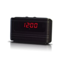 Caméra cachée horloge de bureau autonome HD 720P détection de mouvement 16 Go