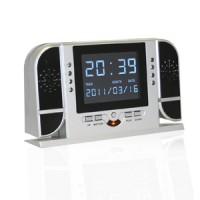Horloge numérique de bureau caméra discrète HD 720P infrarouge