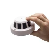 Détecteur de fumée avec caméra cachée IP WiFi P2P HD 720P batterie 10A