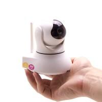 Caméra pilotable avec système d'alarme IP WiFi 720P