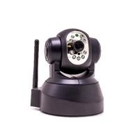 Caméra IP motorisée WiFi infrarouge pilotable à distance avec détection de mouvement