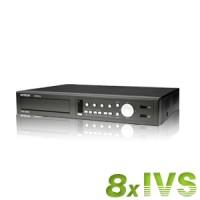 Enregistreur vidéo surveillance intelligent 8 voies (8 dccs) HDD 500Go