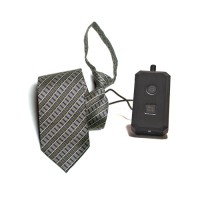Kit complet caméra cravate avec micro enregistreur audio vidéo