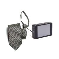Kit caméra cravate HD avec micro enregistreur professionnel HD 1080P avec écran tactile et connexion Wi-Fi sur smartphone iOS & Android