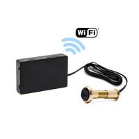 Kit camera cachée judas avec micro enregistreur IP WiFi sur carte microSD