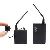 Kit micro caméra bouton / vis 700 lignes avec émetteur autonome et récepteur sans fil 2.4 Ghz