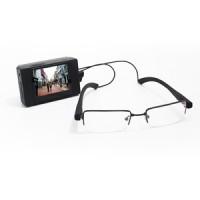 Kit micro enregistreur audio video avec camera lunette classique 480 lignes