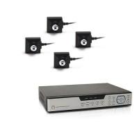 Kit vidéosurveillance 1 To avec 4 caméras cachées vis 700 lignes
