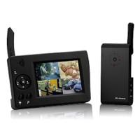 Kit caméra couleur et audio sans fil numérique infrarouge et récepteur LCD