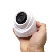 Mini caméra dôme intérieure 2 Mpx HD 720P analogique AHD / TVI / CVI / CVBS vision nocturne