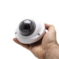 Mini caméra dôme extérieure 2 Mpx HD 1080P analogique AHD / TVI / CVI / CVBS vision nocturne