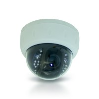 Caméra dôme 420 lignes vision nocturne avec détection de mouvement et carte micro SDHC