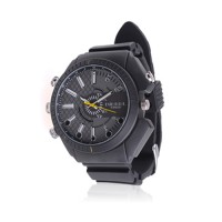 Montre caméra cachée Fashion HD 1080p  infrarouge waterproof 16Go