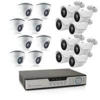 Kit videosurveillance 16 cameras AHD 1080P avec enregistreur 16 voies HDD 2 To inclus