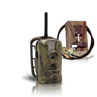 Kit caméra alarme MMS Email IR waterproof et anti-vandalisme (BOX OFFERTE)