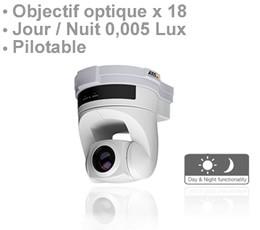 Caméra IP pilotable Jour / nuit