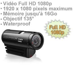 Caméra ContourHD enregistreur audio vidéo Full HD