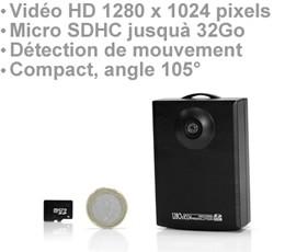 Micro Enregistreur audio-vidéo HD 1