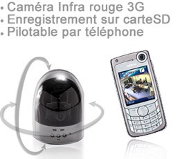 camera dome GSM 1