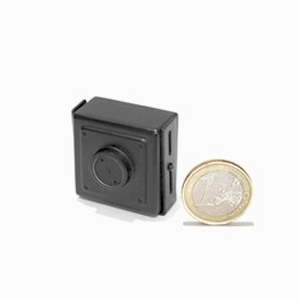 Micro camera filaire couleur CCD Ex-view 480 lignes objectif Pinhole