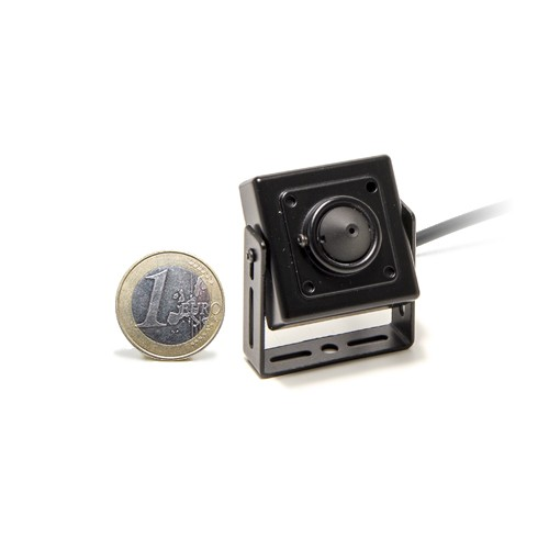 Micro caméra carrée couleur 700 lignes avec objectif pinhole