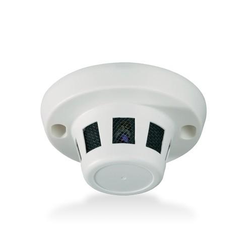 Caméra cachée dans un détecteur de fumée factice