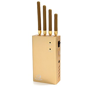 Brouilleur portable ventilé GPS GSM et 3G de 2 watts autonome