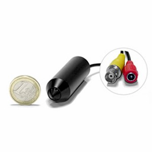 Micro camtube CCD couleur 520 lignes 0.005 Lux pinhole