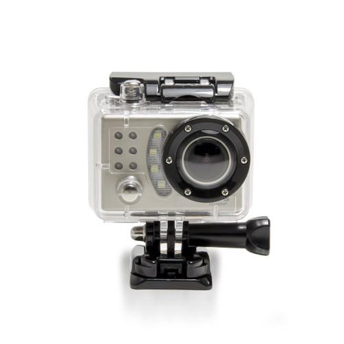 Caméra sport HD dans son caisson étanche et anti-choc