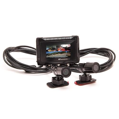 Double caméra sport HD 1080P objectifs déportés et enregistreur GPS