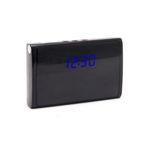 Caméra horloge de bureau 5 Mégapixels HD 1080P avec enregistreur, télécommande et carte 64Go