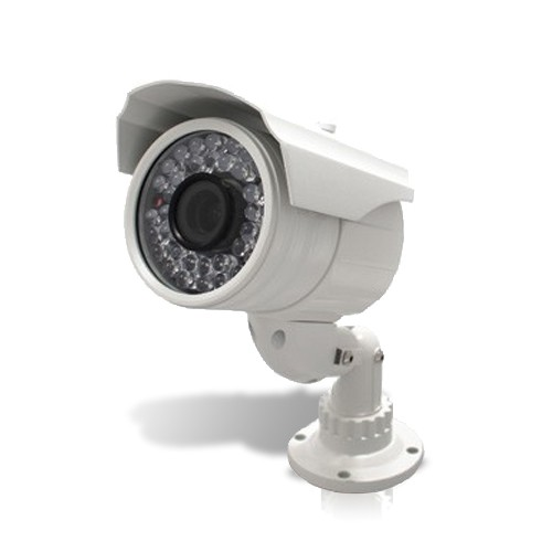 Caméra waterproof CCD Sony couleur et infra rouge 540 Lignes