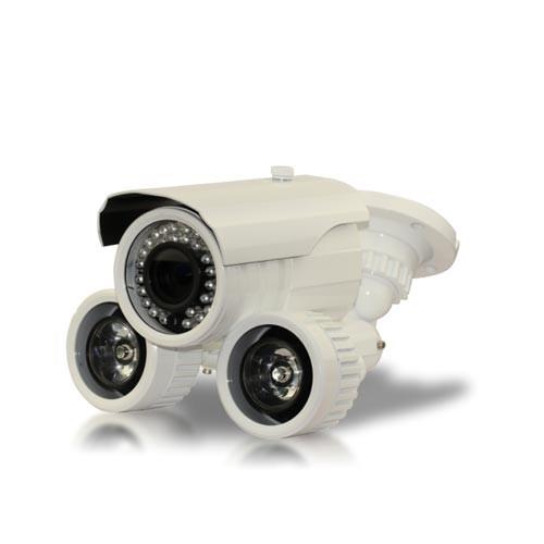Caméra videosurveillance avec projecteur infrarouge longue portée