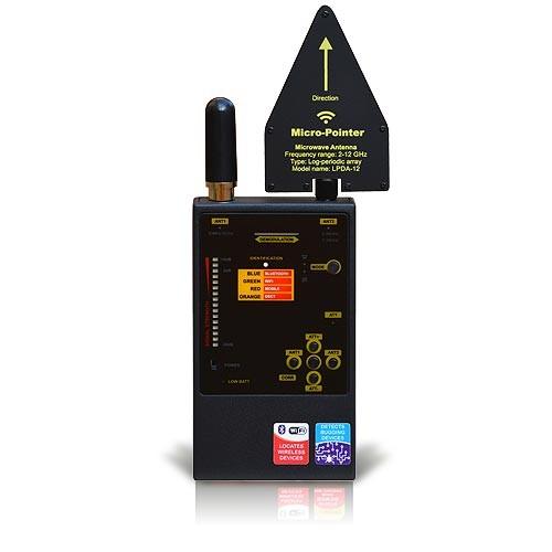 Détecteur de fréquences analogiques et numériques : 2G, 3G, 4G, BT, WiFi, LTE