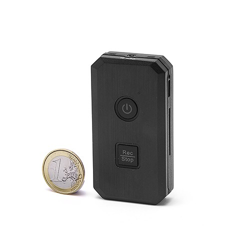 Micro enregistreur audio-vidéo sur carte microSDHC