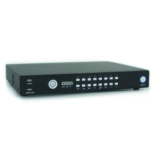 Enregistreur de vidéo surveillance 16 canaux,1 To avec accès sur smartphone et internet