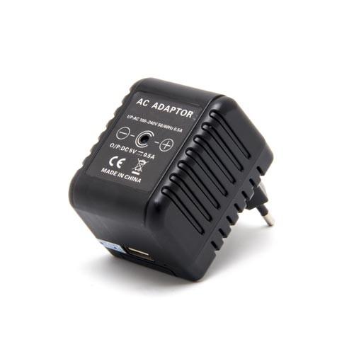 Transformateur caméra cachée HD 1080P, enregistrement sur carte micro SDHC (carte 64Go fournie)