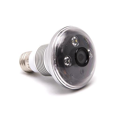 Caméra HD 720P dans une ampoule avec détection de mouvement et vision nocturne