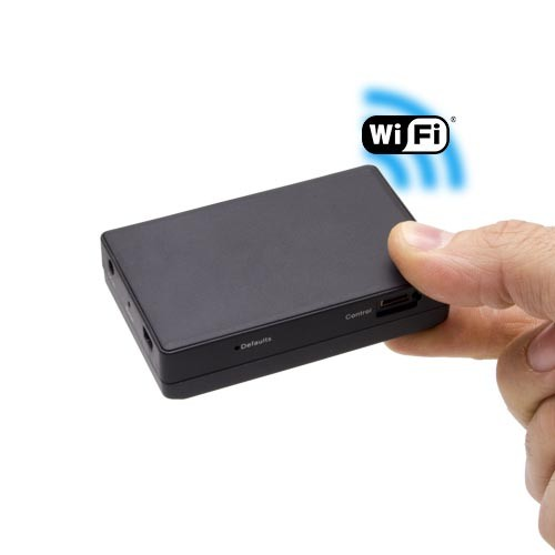 Micro enregistreur portable numérique IP Wifi professionnel dans la main