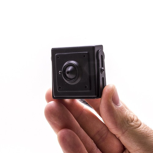 Mini caméra IP HD 720P avec reconnaissance faciale (pin hole)