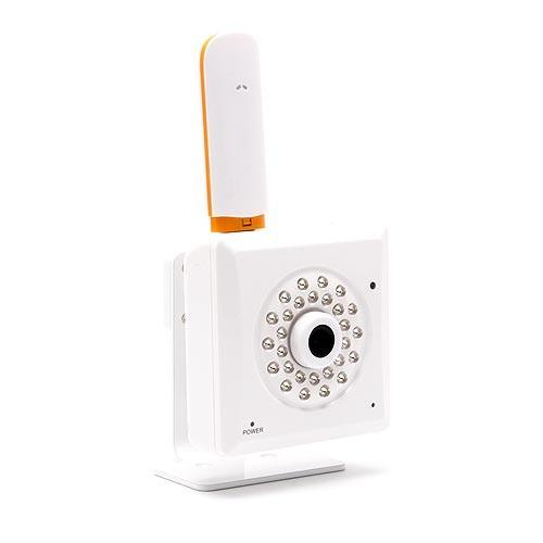 Caméra intérieure IP 3G vision nocturne avec détection sur SDHC et accès smartphone