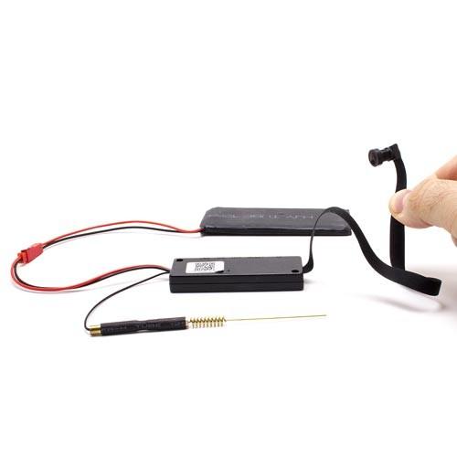 Micro caméra et enregistreur Wi-Fi HD 1080P objectif grand angle 140° avec 32 Go