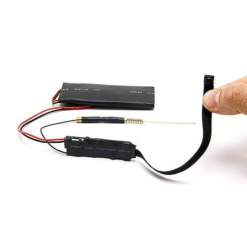 Micro caméra IP WiFi P2P Full HD 1080P à intégrer avec 64 Go de mémoire