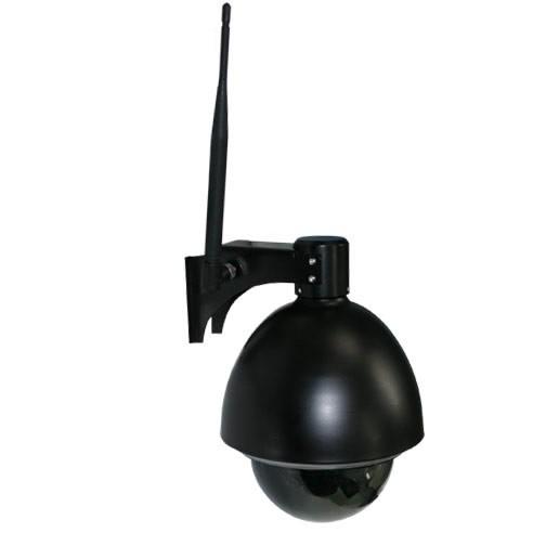 Caméra IP pilotable (PTZ) WiFi avec zoom optique