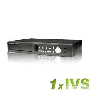 Enregistreur vidéo surveillance intelligent 4 voies (1 dccs) HDD 500Go