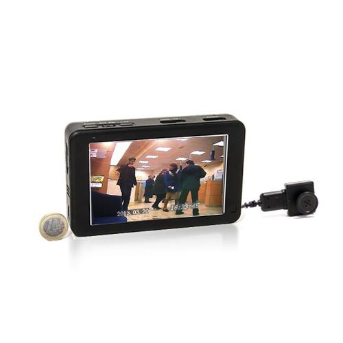 Kit caméra cachée HD type bouton & vis