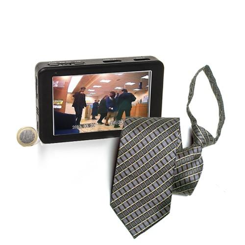kit caméra cachée cravate hd